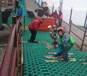 nauka jazdy na nartach na igielicie